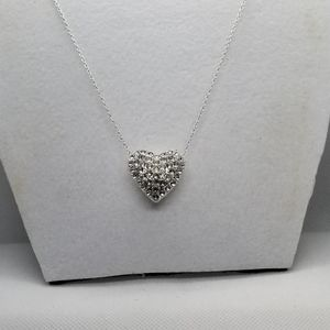 not branded Jewelry - Silvertone Rhodium-Plated Brilliant crystals
